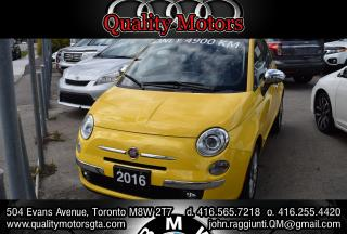Used 2016 Fiat 500 C Lounge for sale in Etobicoke, ON