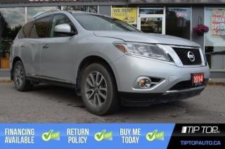 Used 2014 Nissan Pathfinder SL ** Navigation, Leather, 7 Passenger ** for sale in Bowmanville, ON