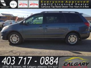 Used 2008 Toyota Sienna 5dr 7-Pass AWD for sale in Calgary, AB