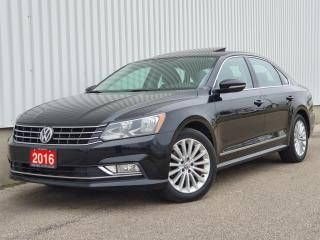 Used 2016 Volkswagen Passat 1.8 TSI Comfortline|Leather|Sunroof|Back Up Cam| WE FINANCE for sale in Mississauga, ON