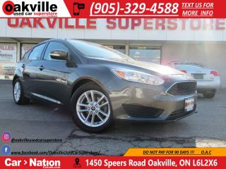 Used 2016 Ford Focus SE | B/U CAM | HEATED SEATS | BLUETOOTH for sale in Oakville, ON