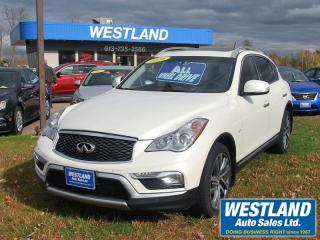 Used 2016 Infiniti QX50 AWD for sale in Pembroke, ON