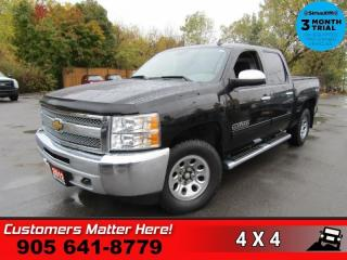 Used 2012 Chevrolet Silverado 1500 LS  CREW CAB V8 4X4 POWER GROUP for sale in St. Catharines, ON
