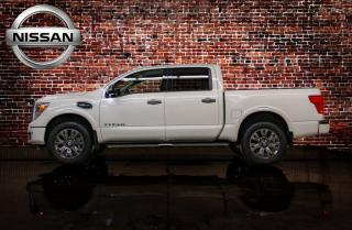 Used 2017 Nissan Titan 4x4 Crew Cab Platinum Reserve Leather Nav BCam for sale in Red Deer, AB