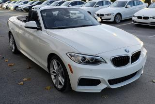Used 2016 BMW 228i Xdrive Cabriolet Low for sale in Dorval, QC