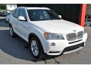 Used 2013 BMW X3 Tech Pack Xdrive Cuir for sale in Île-Perrot, QC
