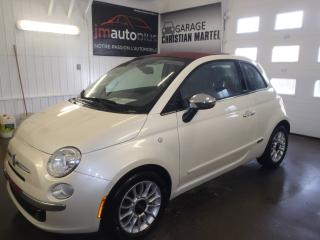 Used 2012 Fiat 500 Décapotable 2 portes Lounge for sale in Québec, QC