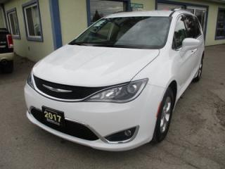 Used 2017 Chrysler Pacifica LOADED TOURING EDITION 8 PASSENGER 3.6L - V6.. BENCH & 3RD ROW.. LEATHER.. HEATED SEATS.. NAVIGATION.. BACK-UP CAMERA.. POWER DOORS & WINDOWS.. for sale in Bradford, ON