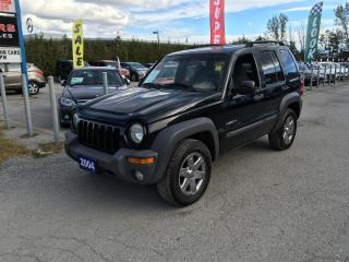 Used 2004 Jeep Liberty sport 4wd for sale in Newmarket, ON