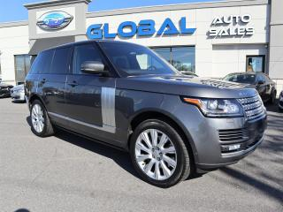 Used 2016 Land Rover Range Rover Sport V8 Supercharged for sale in Ottawa, ON