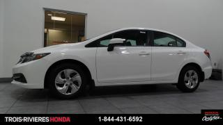 Used 2015 Honda Civic LX for sale in Trois-Rivières, QC