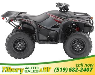 New 2019 Yamaha KODIAK 700 EPS SE1 700cc engine built to tackle the real world for sale in Tilbury, ON
