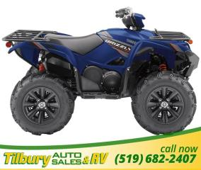 New 2019 Yamaha GRIZZLY EPS SE 700cc engine with improved midrange power for sale in Tilbury, ON