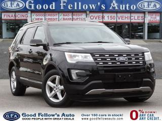 Used 2016 Ford Explorer XLT MODEL, 7 PASSENGER, LEATHER SEATS, PAN ROOF for sale in Toronto, ON