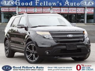 Used 2015 Ford Explorer SPORT MODEL, TURBO, 6CYL ECOBOOST, 4WD, NAVIGATION for sale in Toronto, ON