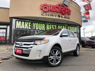 Used 2013 Ford Edge Limited PANO ROOF NAVI REAR CAM HITCH AWD for sale in Toronto, ON