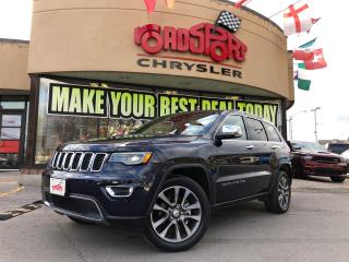 Used 2018 Jeep Grand Cherokee Limited LUXURY GROUP PANO ROOF NAVI REAR CAM for sale in Toronto, ON