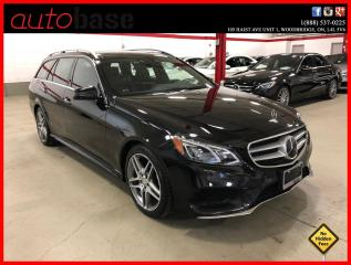 Used 2016 Mercedes-Benz E-Class E400 4MATIC INTELLIGENT DRIVE AVANTGARDE EDITION for sale in Vaughan, ON