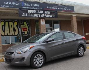 Used 2013 Hyundai Elantra for sale in Brampton, ON