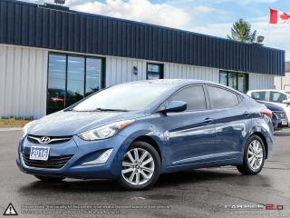 Used 2016 Hyundai Elantra Sport Appearance,ECO,REARVIEW CAM,S.ROOF,B.TOOTH for sale in Barrie, ON