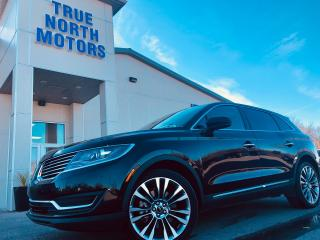 Used 2016 Lincoln MKX Reserve for sale in Selkirk, MB
