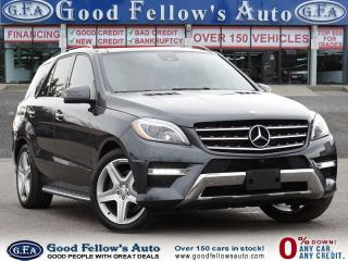 Used 2015 Mercedes-Benz ML 350 4MATIC, DIESEL, LEATHER SEATS, PAN ROOF, NAVIGATIO for sale in Toronto, ON