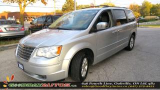 Used 2008 Chrysler Town & Country TOURING|ALLOYS|SWIVEL 'N GO|NO ACCIDENT|CERTIFIED for sale in Oakville, ON