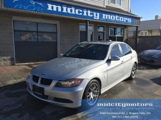 Used 2007 BMW 323i ** ONE YEAR POWERTRAIN WARRANTY INCLUDED ** for sale in Niagara Falls, ON