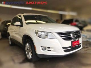 Used 2010 Volkswagen Tiguan COMFORTLINE, Navigation, Bluetooth for sale in North York, ON