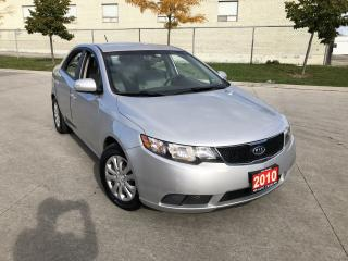 Used 2010 Kia Forte 4 Door, Automatic,3/Y Warranty Available for sale in Toronto, ON