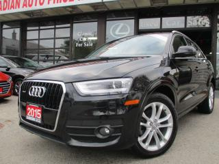 Used 2015 Audi Q3 Technik-NAVIGATION-CAMERA-LOADED for sale in Scarborough, ON