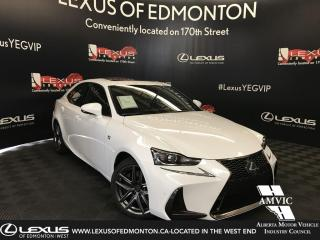 Used 2019 Lexus IS 300 DEMO UNIT - F SPORT SERIES 2 for sale in Edmonton, AB