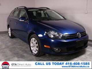 Used 2013 Volkswagen Golf Wagon Comfortline TDI Diesel Alloys Heated Certified for sale in Toronto, ON
