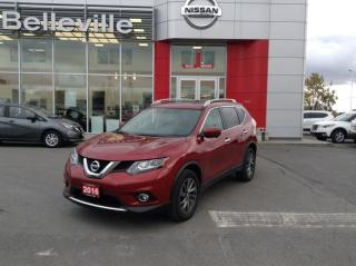 Used 2016 Nissan Rogue SL AWD 1 OWNER LOCAL TRADE for sale in Belleville, ON