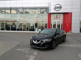 Used 2016 Nissan Maxima SV 1 OWNER LOCAL TRADE WITH LOW LOW KMS for sale in Belleville, ON