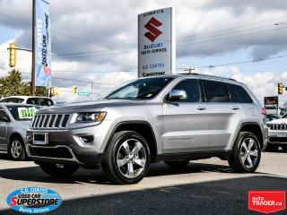 Used 2016 Jeep Grand Cherokee Limited 4x4 ~Nav ~Backup Cam ~ Heated Leather for sale in Barrie, ON