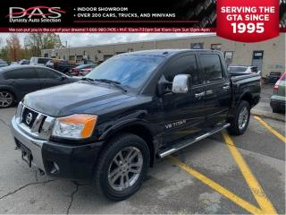 Used 2012 Nissan Titan LEATHER/SUNROOF/DVD/4X4 for sale in North York, ON