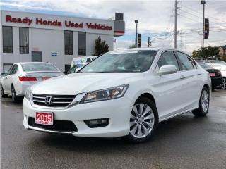 Used 2015 Honda Accord Sedan EX-L  | Leather | Sunroof | Rear Camera for sale in Mississauga, ON