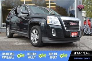 Used 2015 GMC Terrain SLT ** AWD, Leather, Nav, Sunroof ** for sale in Bowmanville, ON