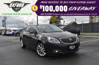 Used 2014 Buick Verano Rust Proofed, bluetooth, back up cam for sale in London, ON