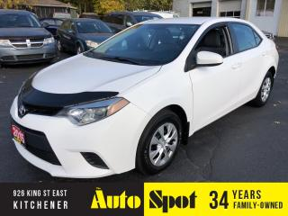 Used 2015 Toyota Corolla PRICED-QUICK SALE ! for sale in Kitchener, ON