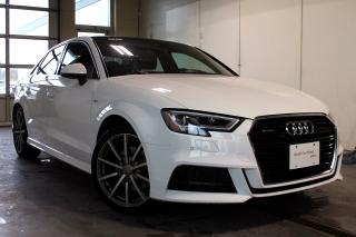 Used 2018 Audi A3 2.0T Technik + Tech Package | Navigation for sale in Whitby, ON