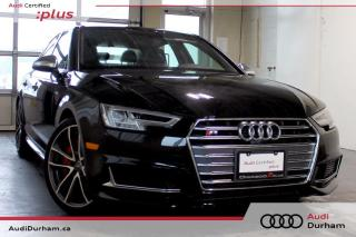Used 2018 Audi S4 3.0T Technik + Sport Diff. | Red Brake Calipers for sale in Whitby, ON