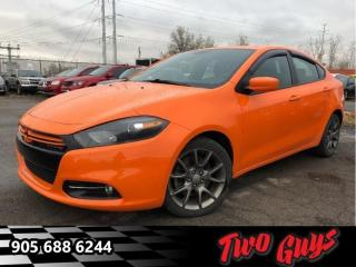 Used 2013 Dodge Dart Rallye  Navigation- Panoramic Roof for sale in St Catharines, ON