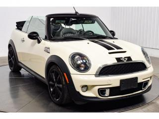 Used 2014 MINI Cooper CONVERTIBLE S Decapotable Cuir for sale in Île-Perrot, QC