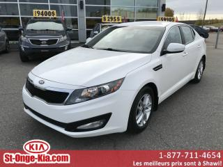 Used 2013 Kia Optima Berline 4 portes, boîte automatique LX for sale in Shawinigan, QC