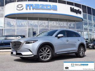 Used 2018 Mazda CX-9 Signature, NAPA leather, rosewood trim, TOP LINE for sale in Maple, ON