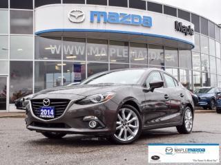 Used 2014 Mazda MAZDA3 GT-SKY Leather,Nav,Camera,HTD Seats.. for sale in Maple, ON