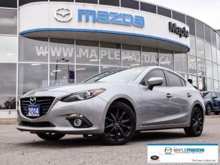 Used 2014 Mazda MAZDA3 GT-SKY - One Owner - Sunroof - $100.98 B/W for sale in Maple, ON