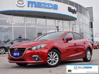 Used 2015 Mazda MAZDA3 GS One Owner,Cam,Htd Sts,Bluetooth for sale in Maple, ON